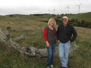 Susan and Ian Maconachie applied the learnings from the Ararat Steep Hills experiment to manage their native pastures in Ararat.