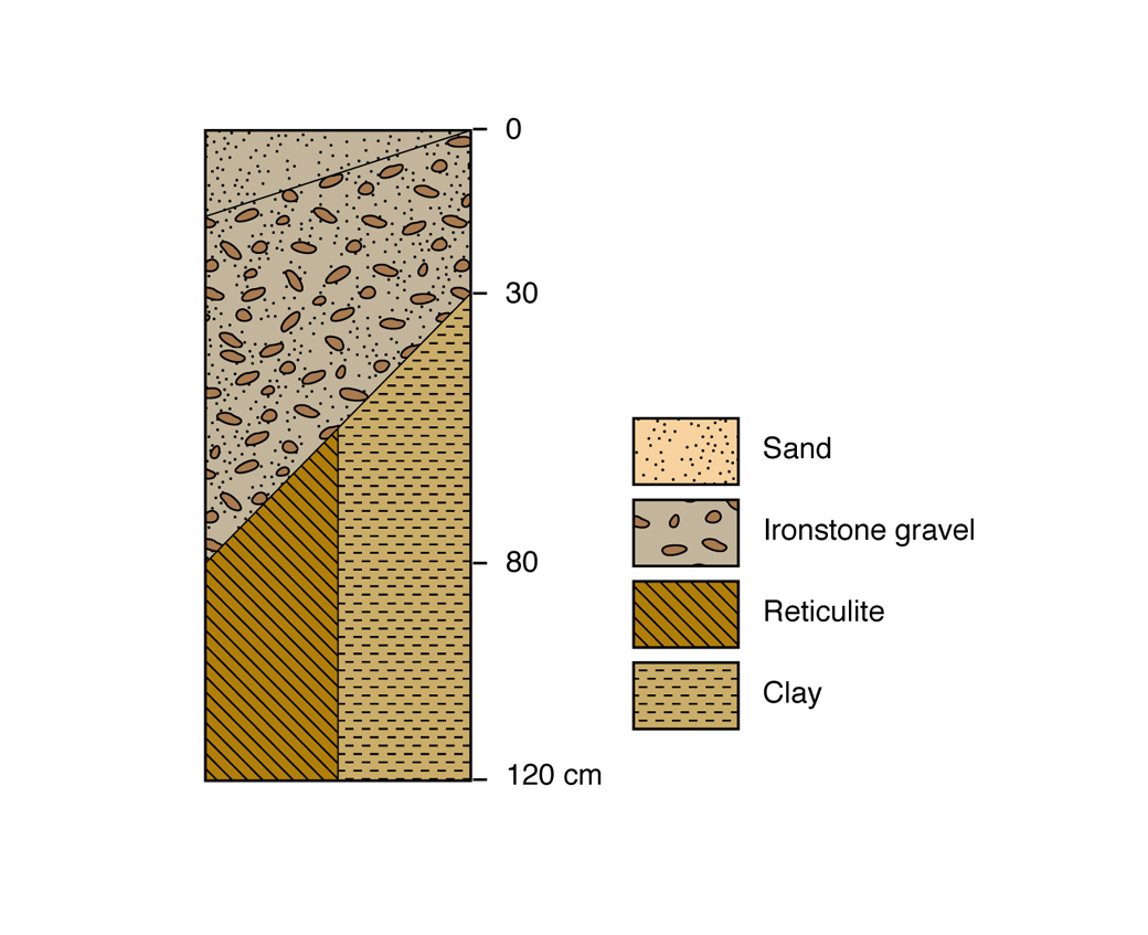 Figure 2. Duplex sandy gravel