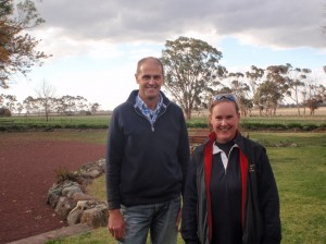 Peter Dooley was keen to establish persistent perennial pasture on the site with the assistance of Supporting Site Co-ordinator Raquel Waller, DEPI Victoria